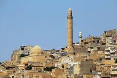 Ciudad de Mardin foto de archivo