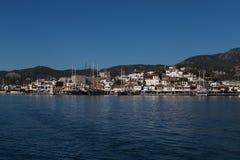 Ciudad de Marmaris en Turquía Imagen de archivo libre de regalías