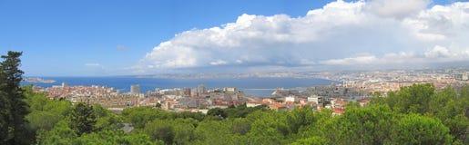 Ciudad de Marsella Foto de archivo