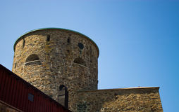 Ciudad de Marstrand, Suecia fotografía de archivo