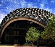 Ciudad de Masdar Imagenes de archivo