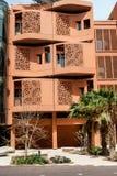 Ciudad de Masdar - edificios Imagen de archivo libre de regalías