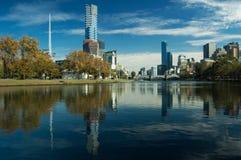 Ciudad de Melbourne Foto de archivo libre de regalías