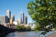 Ciudad de Melbourne - Victoria - Australia fotos de archivo