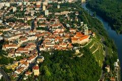 Ciudad de Melnik - foto de la mosca Imagen de archivo