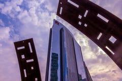 Ciudad de Messico della La dell'en di Metropoli Immagine Stock