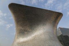 CIUDAD DE MEXIKO - MEXIKO: IM NOVEMBER 2016: Ansicht von Soumaya Museum der Piazzas Carso lizenzfreie stockbilder