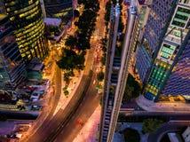 Ciudad De Mexique - Estela de luz Images stock