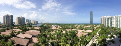 Ciudad de Miami Fotos de archivo libres de regalías
