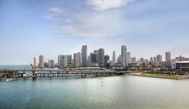 Ciudad de Miami Beach Imagen de archivo