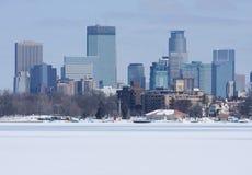 Ciudad de Minneapolis Imágenes de archivo libres de regalías
