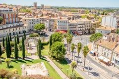 Ciudad de Montpellier en Francia imágenes de archivo libres de regalías