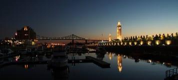 Ciudad de Montreal imágenes de archivo libres de regalías