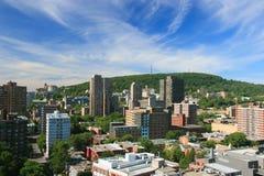 Ciudad de Montreal imagenes de archivo