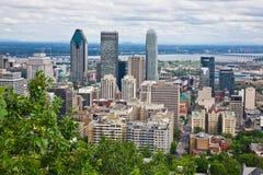 Ciudad de Montreal Fotos de archivo libres de regalías