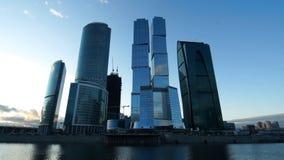 Ciudad de Moscú almacen de metraje de vídeo