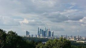 Ciudad de Moscú Imagen de archivo libre de regalías