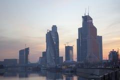 Ciudad de Moscú del paisaje, Moscú, Rusia Foto de archivo
