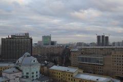 Ciudad de Moscú del paisaje, Moscú, Rusia Fotos de archivo