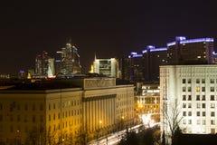 Ciudad de Moscú del paisaje, Moscú, Rusia Imagenes de archivo