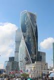 Ciudad de Moscú Torre de la evolución Imágenes de archivo libres de regalías