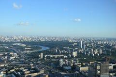 Ciudad de Mosc? foto de archivo