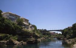 Ciudad de Mostar Fotos de archivo
