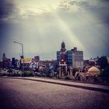 Ciudad de Multan Imagen de archivo libre de regalías