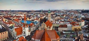 Ciudad de Munchen, Alemania Foto de archivo