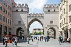 Ciudad de Munich Imagen de archivo libre de regalías