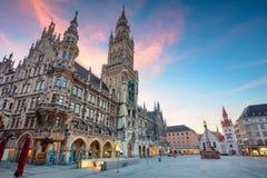 Ciudad de Munich, Alemania foto de archivo libre de regalías