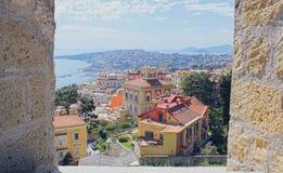 Ciudad de Nápoles Imagen de archivo libre de regalías