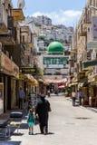 Ciudad de Nablus, Palestina fotografía de archivo
