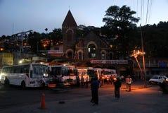 Ciudad de Nainital imagen de archivo