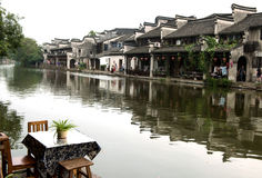 Ciudad de Nanxun Imagenes de archivo