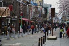 Ciudad de Nara Imagen de archivo libre de regalías