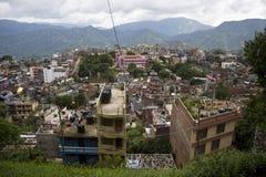 Ciudad de Nepal Tansen fotos de archivo libres de regalías