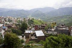 Ciudad de Nepal Tansen imagenes de archivo