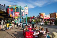 Ciudad de Niágara Imagen de archivo libre de regalías