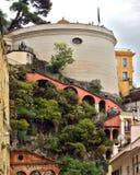 Ciudad de Niza - arquitectura de la colina del castillo Fotografía de archivo libre de regalías
