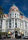 Ciudad de Niza - hotel Negresco Fotos de archivo libres de regalías