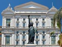 Ciudad de Niza - Opera de Nice Fotos de archivo libres de regalías