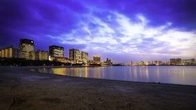 Ciudad de Odaiba imagen de archivo
