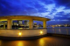 Ciudad de Odaiba foto de archivo