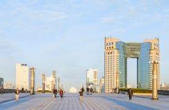 Ciudad de Odaiba, Tokio, Japón Fotos de archivo libres de regalías