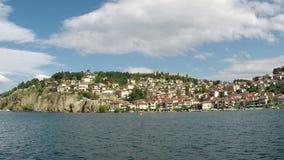 Ciudad de Ohrid almacen de video