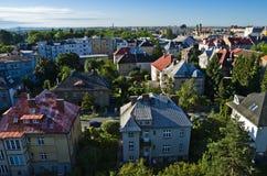 Ciudad de Olomouc, monumento repuplic checo foto de archivo