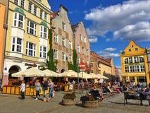 Ciudad de Olsztyn Fotografía de archivo