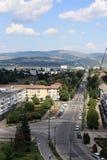 Ciudad de Onesti imagenes de archivo