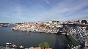 Ciudad de Oporto almacen de metraje de vídeo